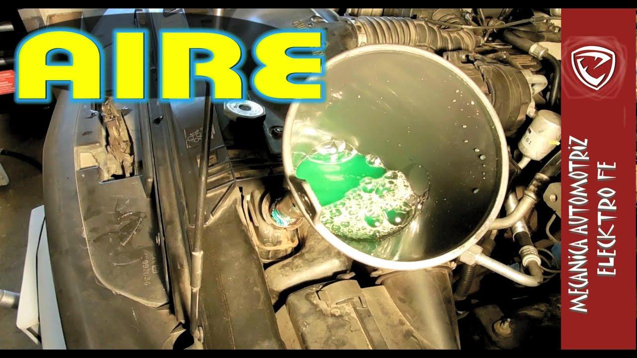 Tips Para Sacar El Aire En El Sistema De Enfriamiento Del Motor Youtube