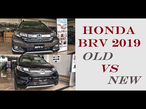 Honda BR-V 2019 | Facelift Model | New vs Old | Honda Atlas
