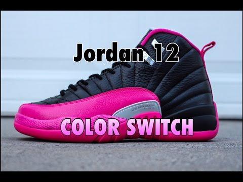 12 B7dd2 Jordan Coupon E0ae7 Pink Custom IH29WED