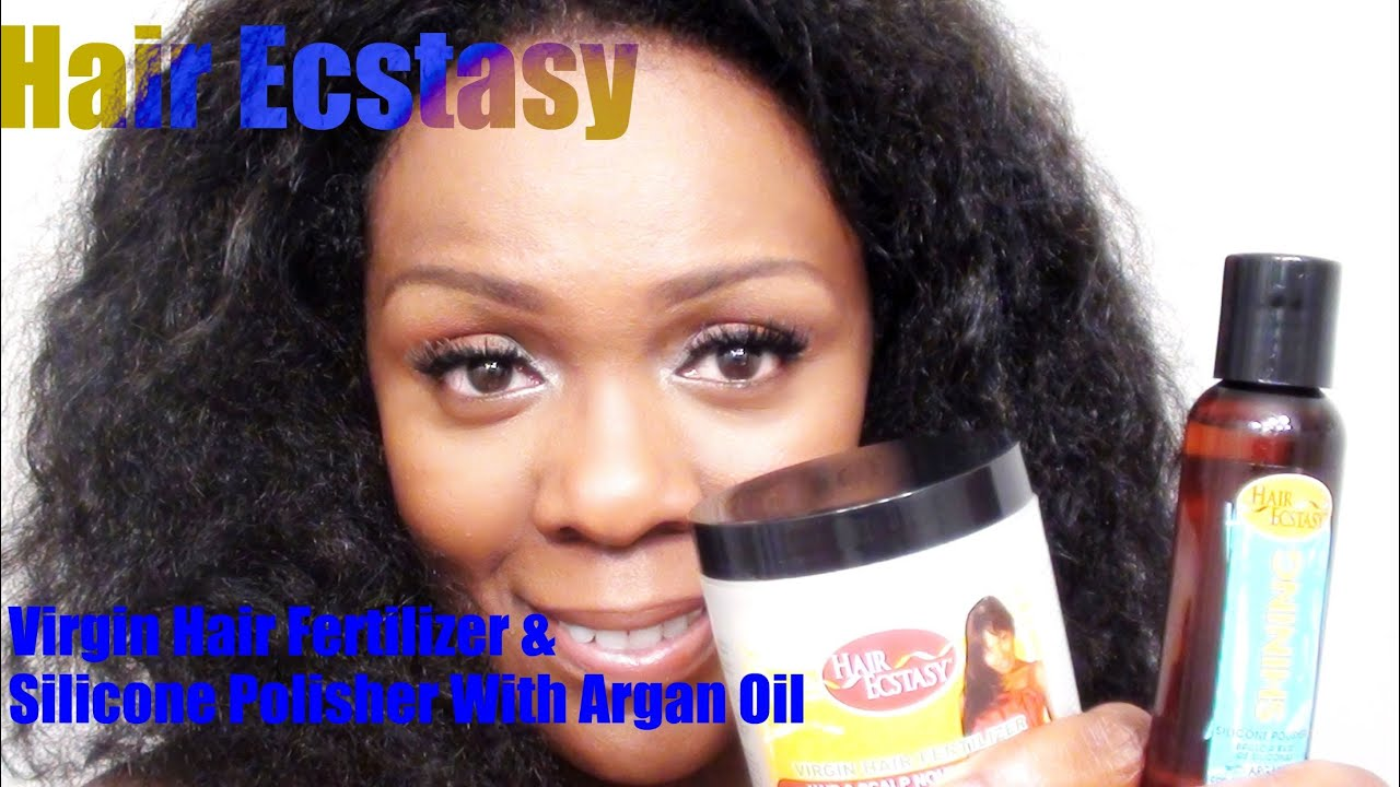 My Natural Hair Update Virgin Fertilizer Shining Polisher With Argan Oil You