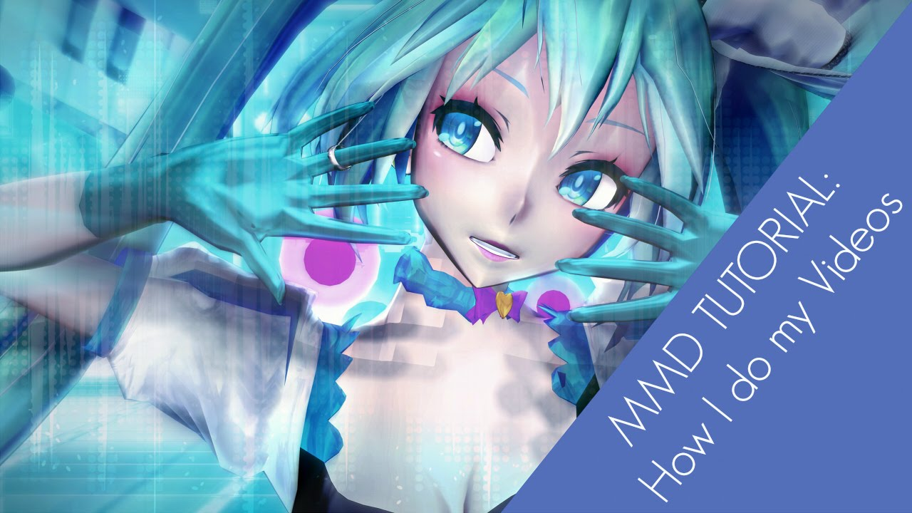 How to render mmd videos in hd