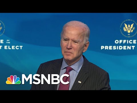 Biden Says Trump 'Not Fit To Serve' But Impeachment Is A Judgement For Congress To Make | MSNBC