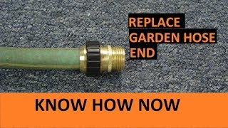 How to Replace the End of a Garden Hose
