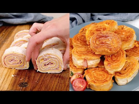 Fried Pinwheels the tasty recipe that will surprise your guests