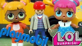 LOL Surprise • Wyjazd na Kolonie • Playmobil • Bajki