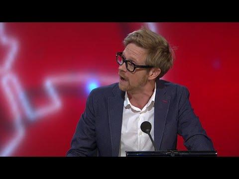 Anders Johansson om SD och fiskar - Parlamentet (TV4)
