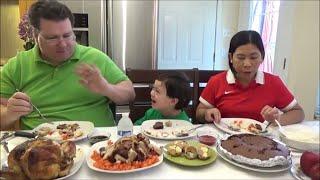 Eating Filipino Food | Filipino Christmas Mukbang | Cooking Filipino Food