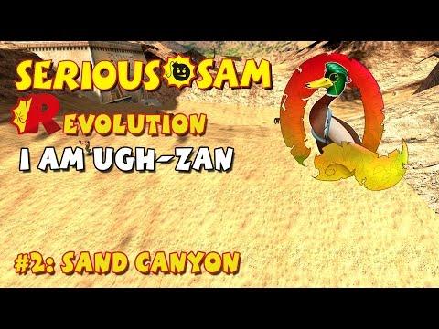Serious Sam Classics: Revolution FE Walkthrough #2: Sand Canyon (Commentary)