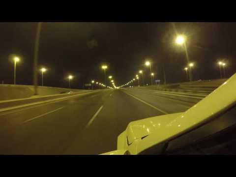 A Drive at night in Seeb Souq, Muscat  Sultanate of Oman  4k UHD