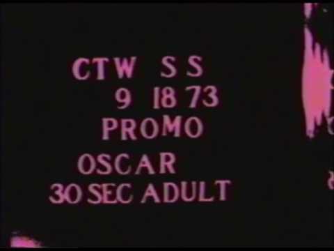 Sesame Street - 1973 Oscar Promos