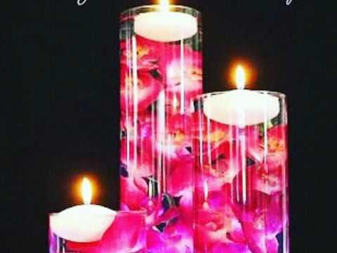 Centros de mesa para 15 a os velas flotantes decoraciones for Mesas y sillas para xv anos