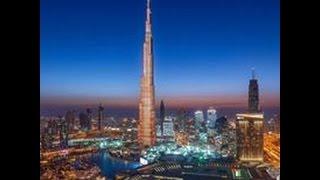 Top view from Dubai Burj khalifa