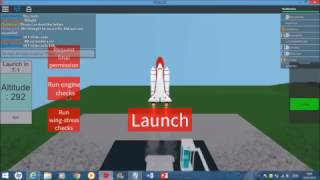 STS-136 - STS-Ambition - nms642's 50th STS-Mission - ROBLOX NASA Mission