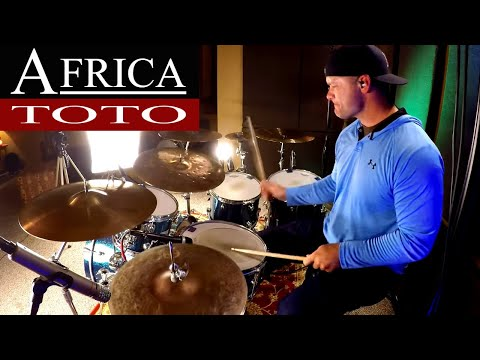 Toto - Africa Drum Cover (High Quality Audio) ⚫⚫⚫
