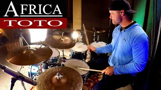 Toto Africa Drum Cover (High Quality Audio) ⚫⚫⚫