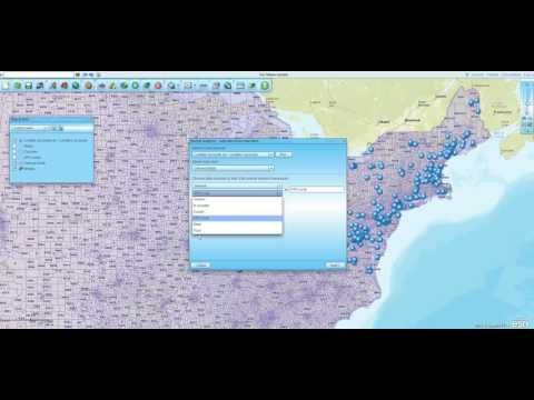 How to Add Demographics & Census Tracts to Imported Data in Map Business Online