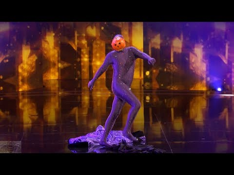 America's Got Talent 2017 Dancing Pumpkin Man Full Clip Judge Cuts S12E08