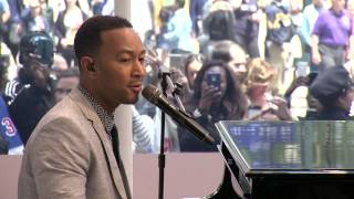 H&M and John Legend Host Grand Opening in New York