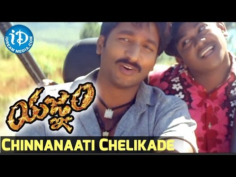 Yagnam Movie - Chinnanaati Chelikade Video Song || Gopichand, Sameera Banerjee || Mani Sharma