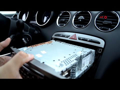 Peugeot 308 - Audio Unit Removal And Refitting