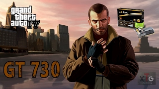 ZOTAC GT 730 2GB DDR3: | Grand Theft Auto IV | Intel Core 2 Duo | xTrane