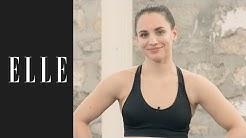 Routine de boxe pour 30 minutes de cardio┃ELLE Fitness