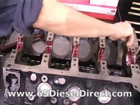 6.5 diesel pistons