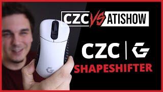 Dírky, nebo bez? S myší CZC Shapeshifter je to na vás! | CZC vs AtiShow #17