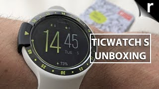 TicWatch S Unboxing | Best value sports smartwatch?