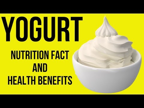 Nutrition Facts and Health Benefits of Yogurt
