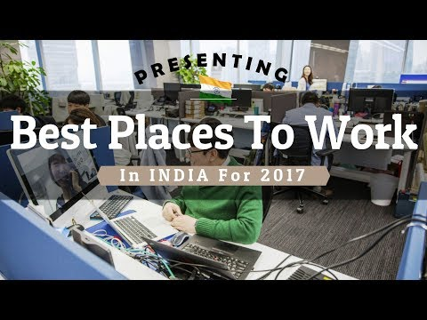 Best Places To Work In India (GPTW 2017)