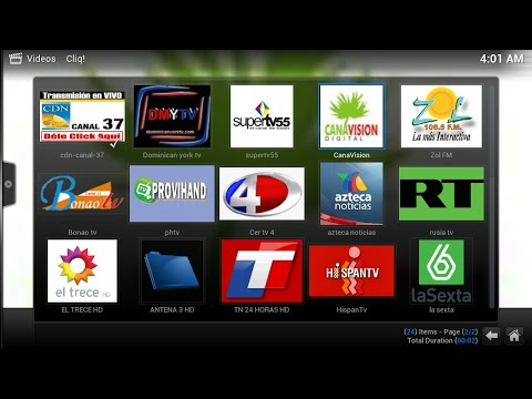 Dominican republic Cliq IPTV Live Tv channels