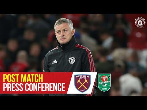 Post Match Press Conference | Ole Gunnar Solskjaer | Manchester United 0-1 West Ham United