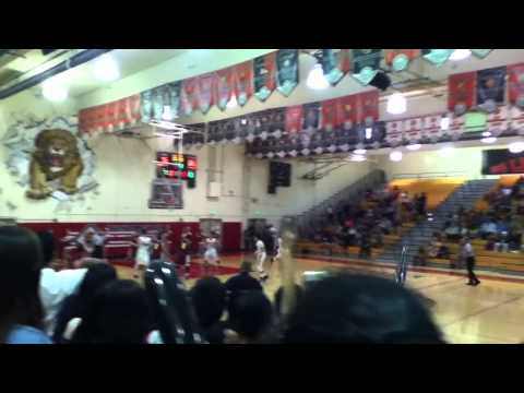 Basketball game: Westminster High School v.s Ocean View High School