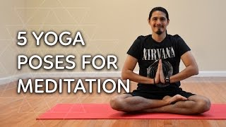 5 Yoga Postures for Success with Meditation