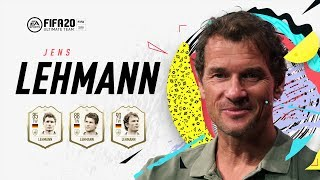 Der legendäre torwart jens lehmann, teil unbesiegbaren gunners war, ist eine icons in fifa 20 ultimate team. hier sind seine fut icon stories.bes...
