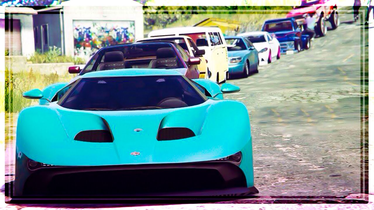 GTA Online ANY CAR CAR SHOW Coolest Paint Jobs - Any car shows near me
