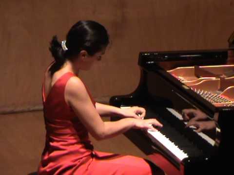 Tamar Beraia plays Albeniz Suite Iberia: Almeria