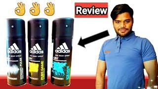 Adidas Deo Body Spray collection || Fragrance Kaisi Hai ??
