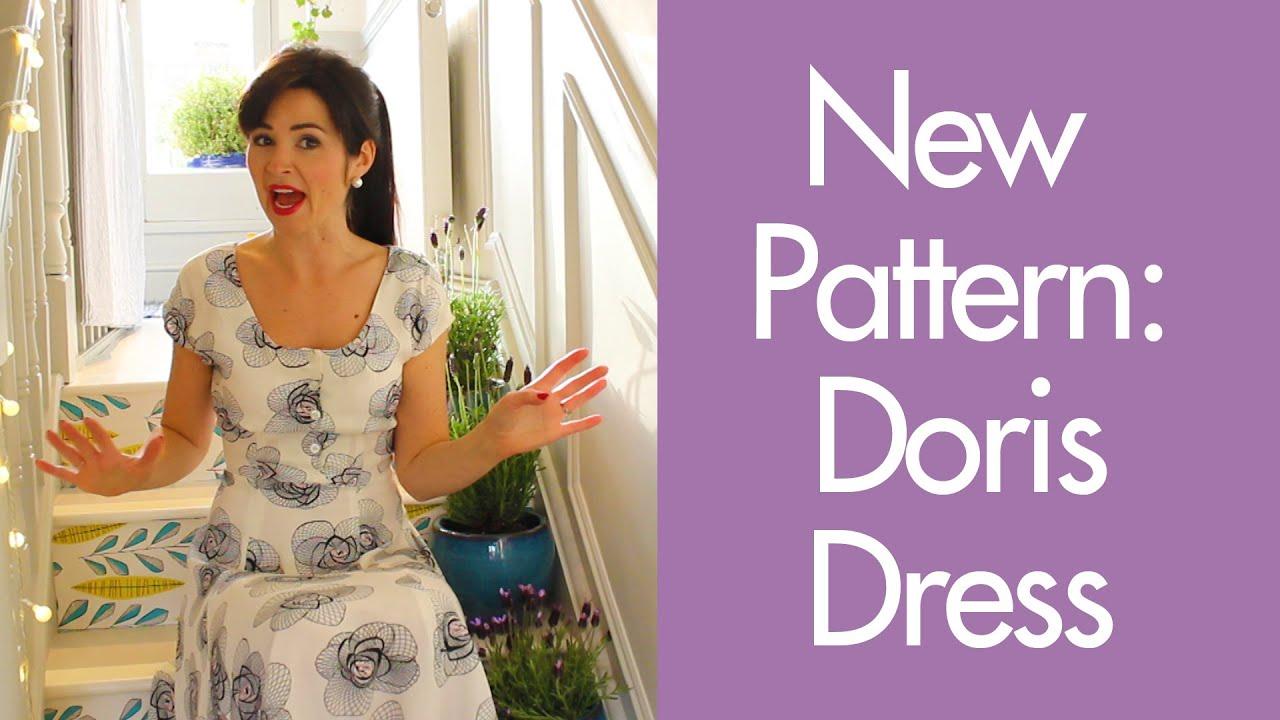 New Pattern: Doris Dress - YouTube