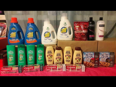 CVS get FREE Toothpaste & Shampoo HAUL 03/06/17