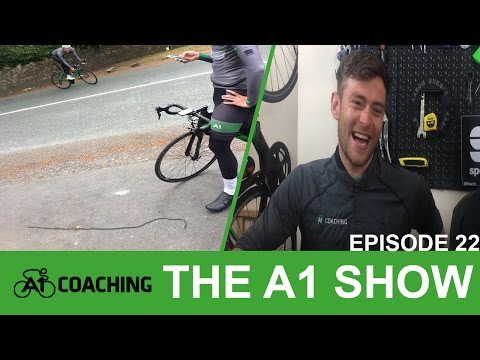 Motor Pacing, Rás Training and a Review of Mount Etna