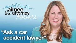 Ask a Car Accident Lawyer: Personal Injury Lawyer Explains the Basics of a Personal Injury Case