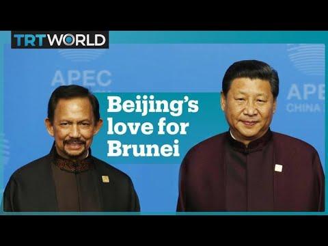 China rescues Brunei