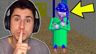 I Robbed Baldi's Schoolhouse AT NIGHT!