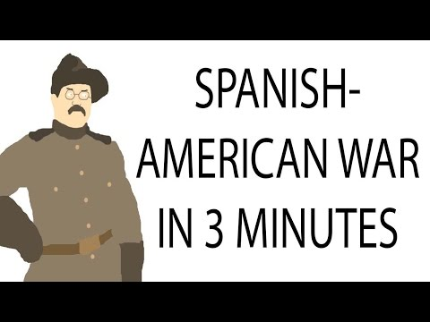 Spanish-American War | 3 Minute History