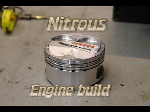 Kawasaki ZX-11 (ZZR1100) Drag Bike Nitrous Engine Rebuild