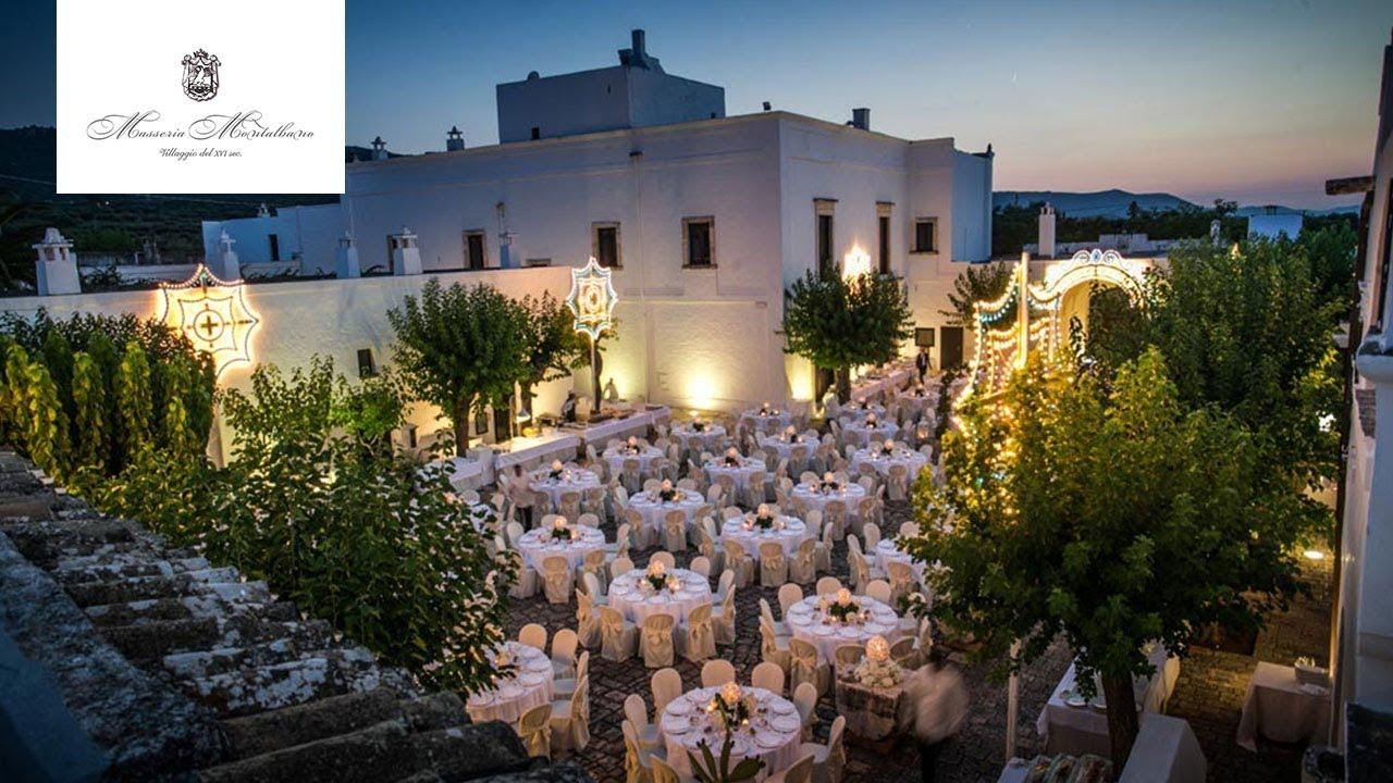 Matrimonio Spiaggia Brindisi : Masseria montalbano sala ricevimenti ostuni brindisi youtube
