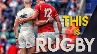 This is why we love Rugby!   A Gentleman's Game