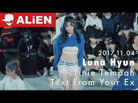 에일리언 홍대 버스킹 Busking | 171104 | Tinie Tempah(ft.Tinashe) - Text from your ex | Luna Hyun Choreography
